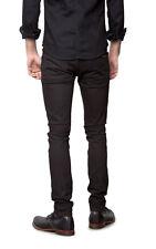 W33 L34 Nudie jeans GRIM TIM BLACK BLACK SLUBS 12,5Oz denim slim fit FADE GREY