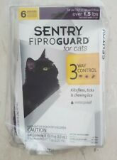 Sentry Fiproguard for Cats, Flea and Tick Prevention for Cats Includes 6 Month
