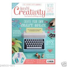 Docrafts creativity magazine December 2015 no. 65 + FREE diary & 22 stickers