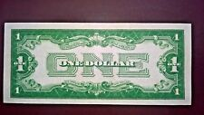 1934 SILVER CERTIFICATE  1$  #414 (2008)  D26662452A CLEVELAND RARE Funny Back