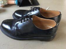 Vintage *Made in England* Dr Martens black flat shoes UK 11 But More Like A 10