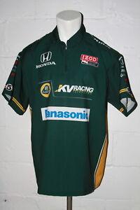 EUC Impact Racing Takuma Sato KV Racing Lotus Panasonic Crew Shirt Jersey XXL
