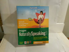 Dragon Naturally Speaking 9 talk into text computer software NOS sealed language