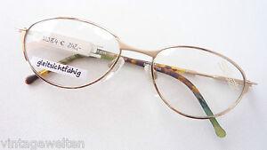 Silhouette Women Frame Delicate Socket Glasses Matt Gold Elegant Size M
