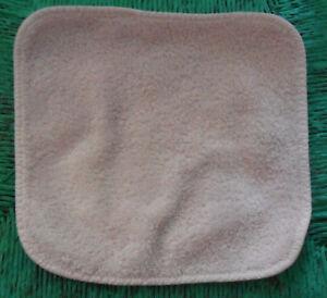 Rachel Ashwell Shabby Chic WASHCLOTH Small Towel, Pale Pink 100% Egyptian Cotton