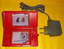 CONSOLE NINTENDO DS LITE Rossa + Nintendogs Dalmata & Amici ○○○○○ USATA - BX