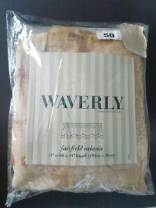 NEW Waverly Fairfield Valance Fringe Ladybug Dragonfly Collectors Notebook Dune