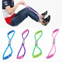 Latex Rubber Resistance Stretch Band Rope Fitness Exercise Pilates Yoga Gym NEW