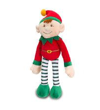 Keel Toys Rouge Elf on/pour la durée de peluche poupées, jouets en peluche cadeau de Noël