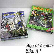 DOS WINDOWS 95 98 GAMES SPIELE AGE OF AVALON & BIKE IT! TOUREN XMP BMM 486 386
