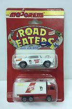 ☀� Majorette Peter Pan '57 Chevy & Box Truck 1:64 Scale Die-cast Cars Nos 1990