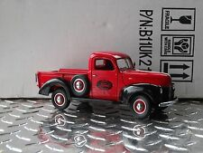 Franklin Mint 1940 Ford Pickup Truck Sales & Service Delivery 1:24 Diecast Red