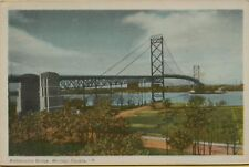 VTG Ambassador Bridge Windsor Canada Postcard