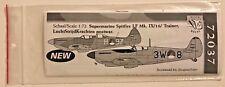 Dutch Decal 1/72 Spitfire LF. Mk. IX/ Trainer LSK postwar.  72037
