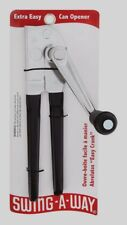 Swing A-Way Away Commercial EASY CRANK Can Opener Heavy Duty Large Grip Design