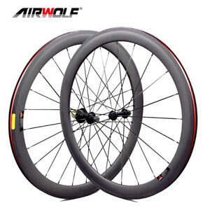 700C 50*25mm T1000 Aero Carbon Road Wheelset Bike Racing Bicycle Wheels Tubeless
