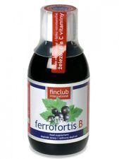 Fin Ferrofortis B 250 ml - Finclub - żelazo + witaminy do picia