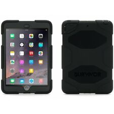 Griffin Survivor carcasa iPad mini 1/2/3- negro Gb35918-3