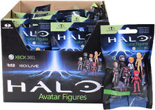 HALO - XBox Live Avatar Series 2 Blind Bag Figure Display (27ct) McFarlane #NEW