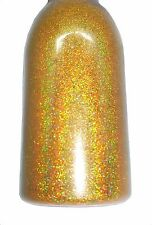 Gold Holographic .004 True Ultra Fine Nail Glitter Art Dust Powder DIY Polish!