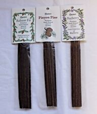 Paines Hand Dipped Natural Incense Sticks: Pinyon Pine Balsam Fir & Bayberry