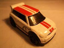 Hot Wheels 2011 New Models Mini Cooper S Challenge White # 30