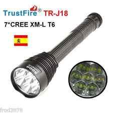 LINTERNA LED CAZA TRUSTFIRE TR-J18 7*CREE XM-L T6 8000LM 26650 18650 Li-ion
