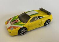 2001 Hotwheels Ferrari F355 355 Challenge Yellow Very Rare!