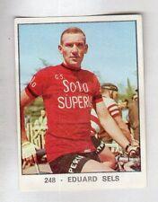 figurina PANINI CAMPIONI DELLO SPORT 1966-67 CICLISMO N. 248 SELS