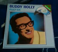 BUDDY HOLLY PEGGY SUE 1985 GERMAN LP PLATINUM PLP 62 SEALED