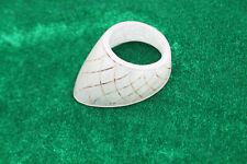 vintage Mughal Ottoma Islamic engraved green jade thumb archer ring qing dynasty