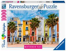 RAVENSBURGER PUZZLE*1000 TEILE*MEDITERRANEAN PLACES*SPAIN / SPANIEN*RARITÄT*OVP