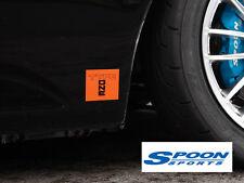 Spoon Sports: Genuine Orange TYPE ONE Sticker Decal