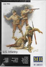 1/35 Master Box 3521  U.S. Infantry, July 3rd 1944 - 4 Figures Model Kit