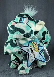 NWT 2008 Ser 6 Camouflage Wocky Neopets Keyquest Plushie w/CODE Camo Camoflauge