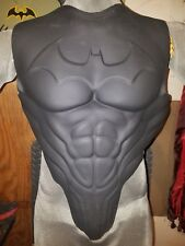 Batman arkham style latex costume armor chest piece with emblem (cosplay)