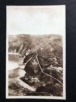 Vintage Real Photo Postcard #TP647:  Countisbury Hill, Lynmouth