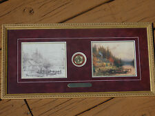 """Thomas Kinkade """"A Perfect Day"""" Beginning To End Framed Print COA #473 of 15,000!"""