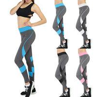 L/P Damen Stretch Hose Leggins Skinny Leggings Sporthose Fitnesshose Gym Yoga