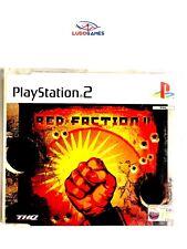 Rot Faction 2 Pal / Eur PS2 Promo Retro Videogame Video-Spiel wie Neu Mint State