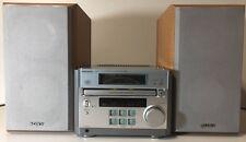 Micro Sony HiFi Stereo Receiver HCD-RB5  AM/FM & CD  & 2 Original Speakers