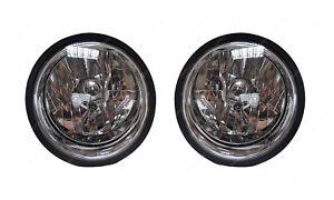 London Taxi Late TXIV TX4 Genuine Crystal Clear Front Headlight Pair