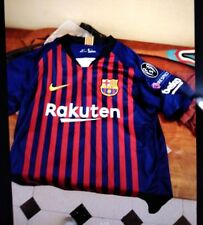 Nike Barcelona 2018/19 Jersey Lionel Messi Sizes L  and XL New With Tags