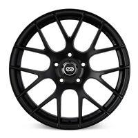 ENKEI 467-885-8045BK Black Raijin 18x8.5 Wheel 5x100mm Bolt Pattern 45mm Offset