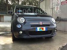FARI ANTERIORI LENTICOLARI + KIT LED ANABBAGLIANTE PER FIAT 500 2007+