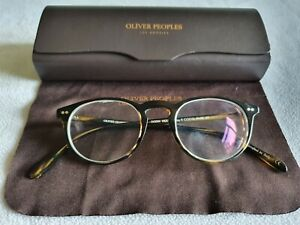 Oliver Peoples brown tortoiseshell glasses frames. OV5004 1003 Riley. With case.