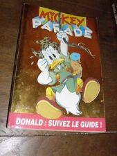 MICKEY PARADE N° 189  DE SEPTEMBRE 1995 . DONALD SUIVEZ LE GUIDE....BE