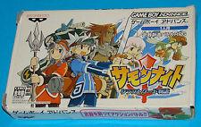 Summon Night - Craft Sword Story - Game Boy Advance GBA Nintendo - JAP