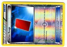 POKEMON (XY1) XERNEAS & YVELTAL HOLO INV N° 124/146 CARTON ROUGE