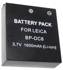 BC-DC8 BCDC8 Charger for Leica X1 Digital Camera BP-DC8 BP-DC8E BPDC8 BPDC8E